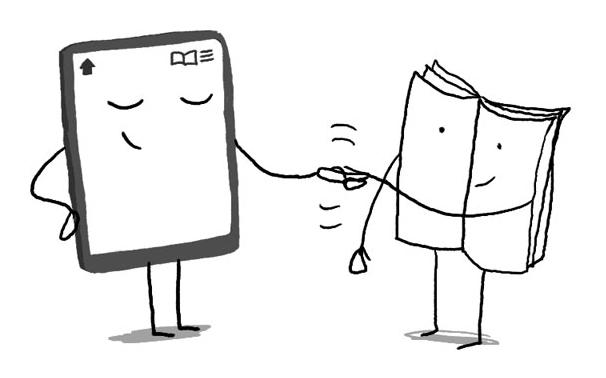 Le livre numérique : une passerelle vers le papier