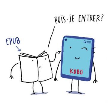 Comment ajouter un Ebook au format Epub sur ma liseuse Kobo