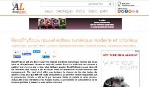 ActuaLitté : ReadMyBook, un nouvel éditeur numérique modeste et ambitieux