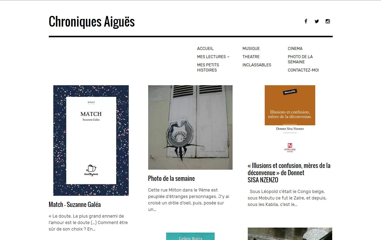 Chroniques Aiguës : Match, de Suzanne Galéa