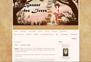 Au Bazaar des Livres : Match, de Suzanne Galéa