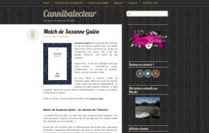 Cannibalecteur : Match de Suzanne Galéa