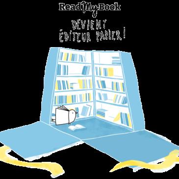 ReadMyBook devient éditeur «papier»