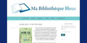Ma bibliothèque bleue : Malone Bolle