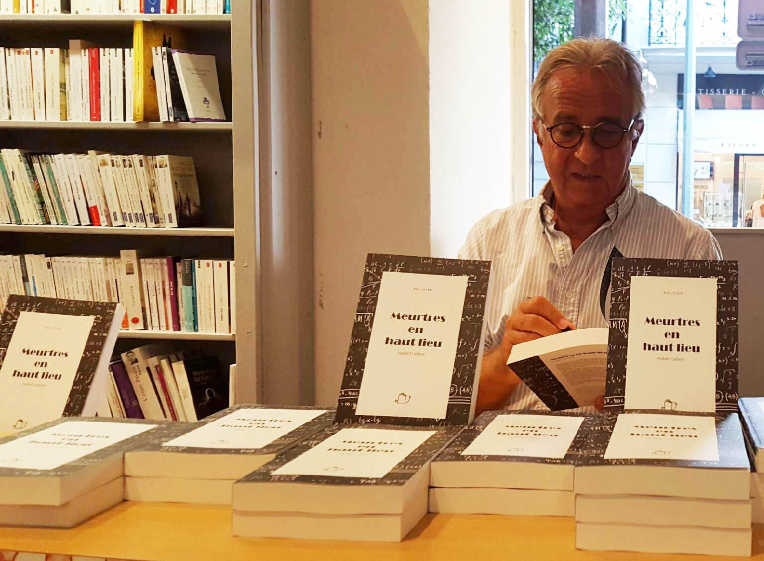 Librairie Massena : dédicace Hubert Letiers
