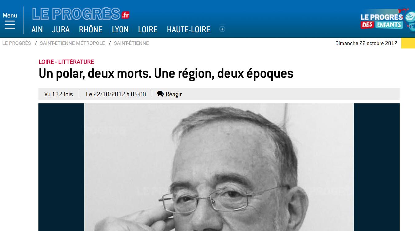 Le Progrès : Le suicidé de La Ricamarie, Marc Wluczka