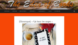 The Eden of Books : Là-haut les anges, Chris Roy