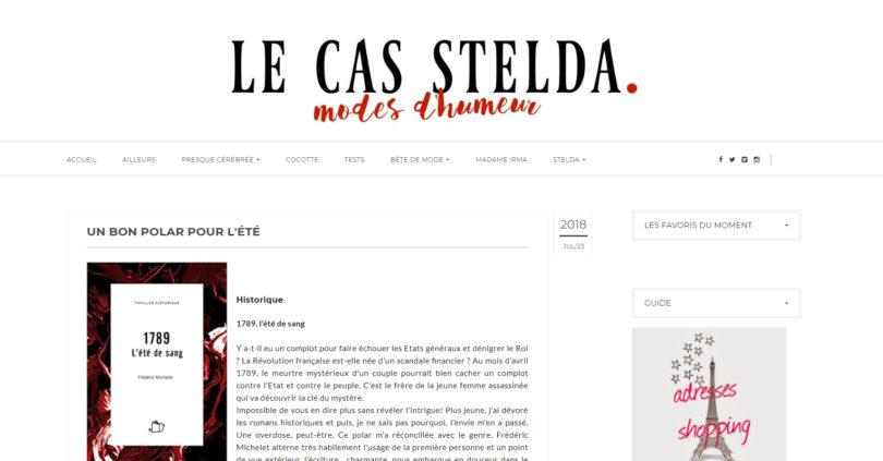 Le cas Stelda : 1789, l'été de sang