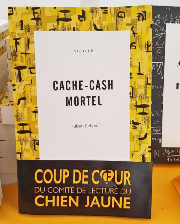 Cache-Cash Mortel, coup de coeur du Chien Jaune