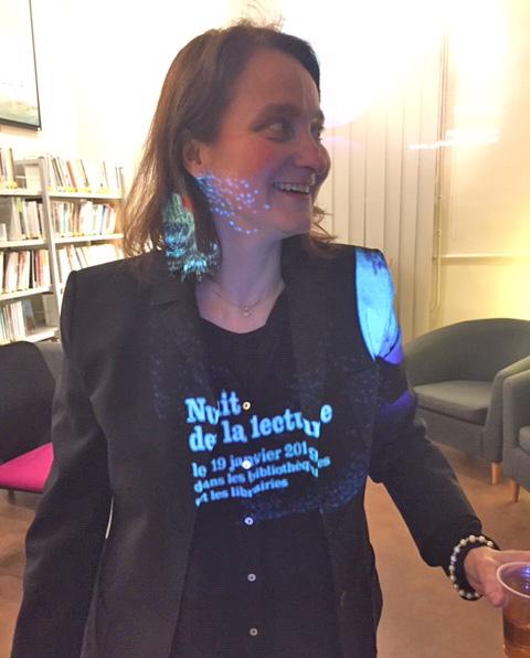 Cendrine Varet, Nuit de la Lecture (Courville)