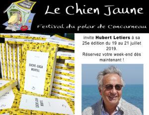 Hubert Letiers, invité au Chien Jaune, 25e édition