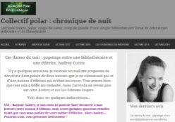 Collectif Polar : Rencontre avec Audrey Cornu, éditrice