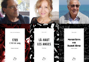 Dédicace Cultura Mandelieu : Chris Roy, Frédéric Michelet, Hubert Letiers