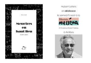 Dédicace Hubert Letiers
