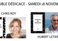 Double dédicace samedi 18 novembre : Chris Roy & Hubert Letiers