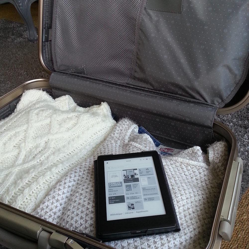 La liseuse : pratique pour les voyages