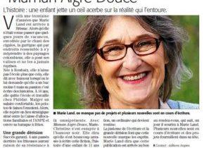 """Marie Land dans le Midi Libre pour sa nouvelle """"Maman aigre-douce"""""""