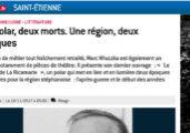 """Le Progrès Haute-Loire présente """"Le suicidé de La Ricamarie"""""""