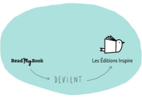 ReadMyBook devient Les Éditions Inspire